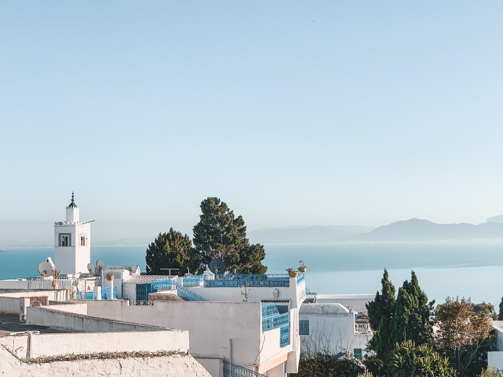 Sidi Bou Said Mosque with View 2