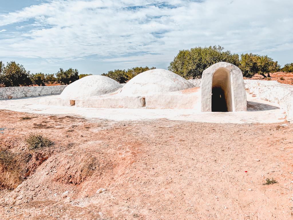 Underground Mosque Island of Djerba in Tunisia