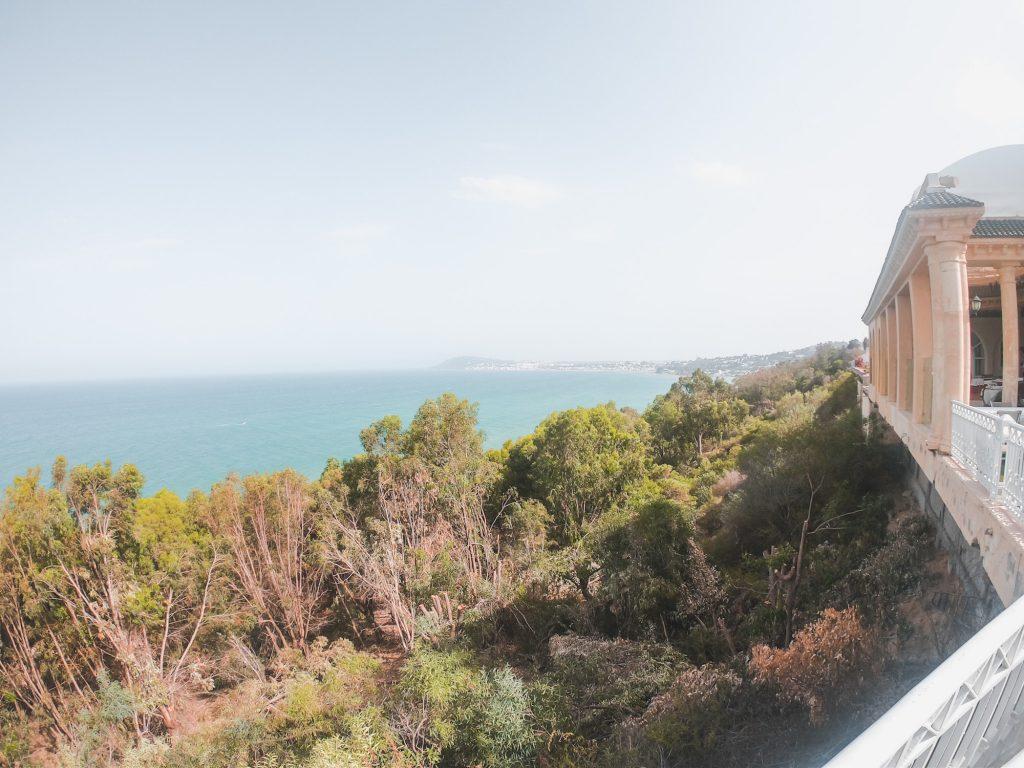 View From Grand Bleu Restaurant