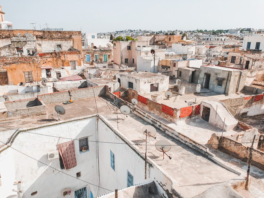 View of The Old Medina of Tunis