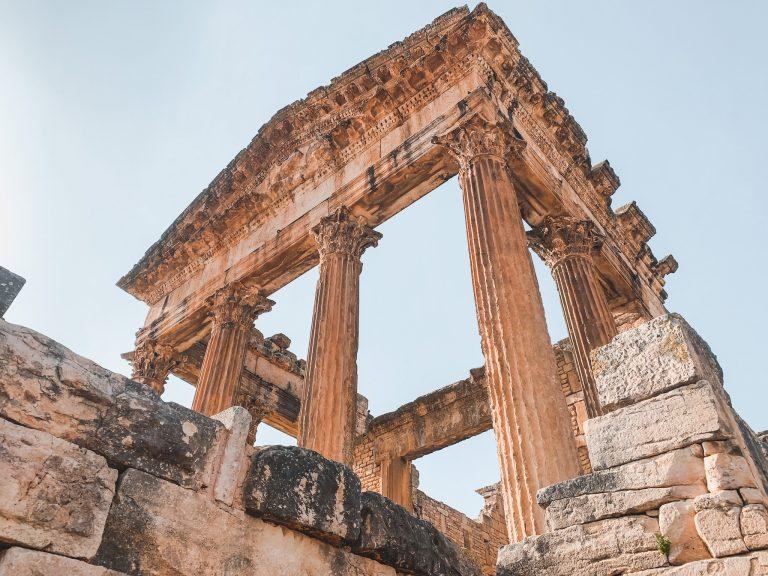 Visiting Dougga Roman Ruins in Tunisia